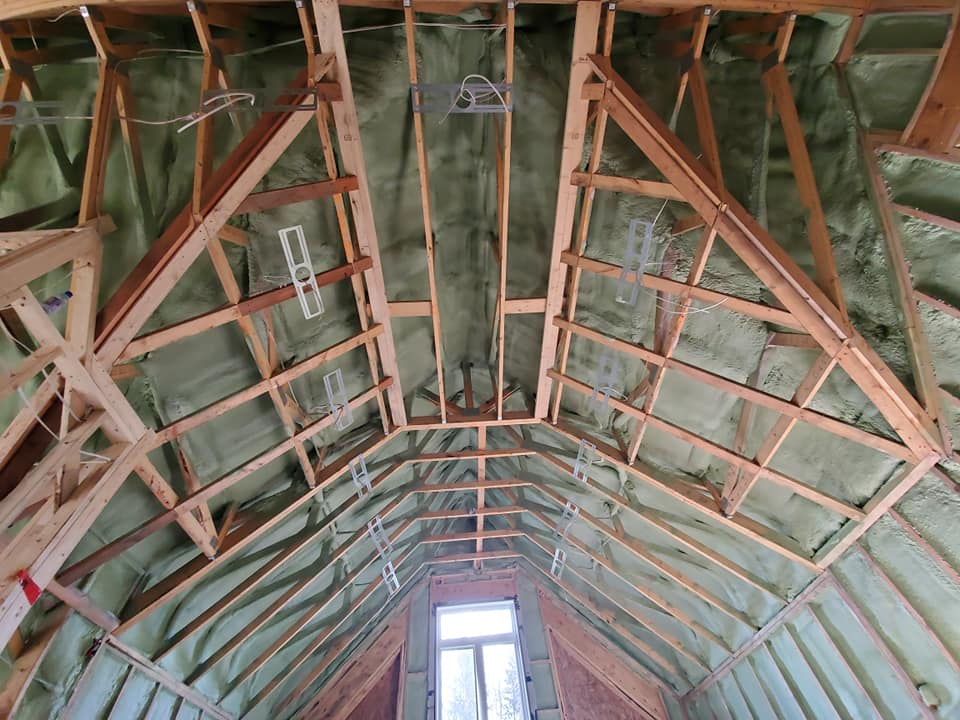 Roof Spray Foam Insulation Chattanooga